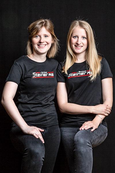 Jasmin und Sandra Steiner
